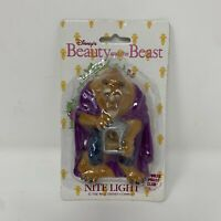 Vintage Disney Beauty and the Beast Beast Nite Light BEAST Looking For belle NEW