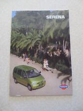 1997 Nissan Serena advertising booklet