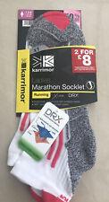 Ladies Marathon Socks / Ladies Marathon Socklet UK 4-8 / Karrimor Running Socks