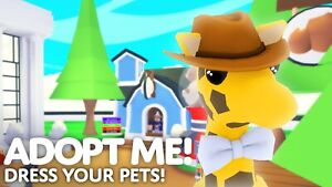 Adopt*Me Pet Wear **CHEAP** ---- OUT OF GAME --- UNIQUE -- HARD TO FIND