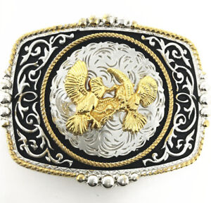 Texas West Cowboy/Cowgirl Texas Premium Square Buckle Head In Multi Symbol