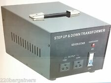 Best NEW 3000 Watt 110 to 220 Volt Voltage Converter Transformer 220v to 110v