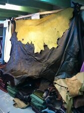 Real Leather Full Hide Upholstery Or Fashion Green 50 Sq feet (51)