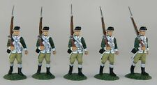 Frontline 1775 Continental Marines - 5 Marines Marching at Shoulder Arms - MIB