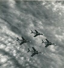 Grande argentique Patrouille RF chasseurs 2/33 Savoie avions aviation militaria