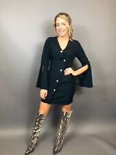 New with tags! Size 8 Black Tux Dress