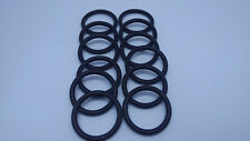 12 Pcs 12 mm x 8 mm x 2 mm Flexible Nitrile Rubber O Rings Washers