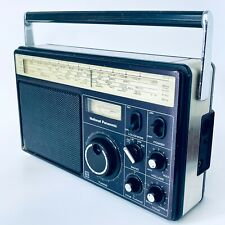 More details for panasonic mw lw fm sw radio rf-1110lbe shortwave transistor radio retro vintage