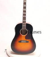J45 Standard Electric Acoustic Guitar Sunburst Fishman 101