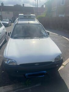 FORD ESCORT 75 REFRIGERATED WHITE VAN 1998 MODEL(Original Mileage27000 from new)