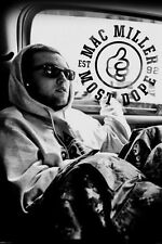 Mac Miller Poster Hip Hop Blue Slide Park Pittsburg Producer Never Been Hung!