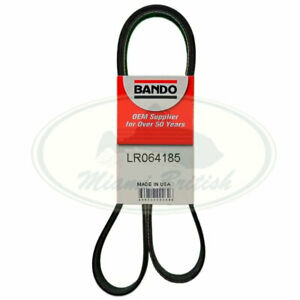 LAND ROVER PRIMARY DRIVE SERPENTINE BELT 5.0L RANGE RR SPORT LR4 LR064185 BANDO