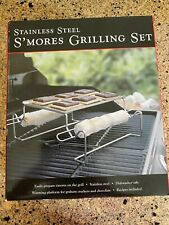 Stainless Steel S'mores Grilling Set