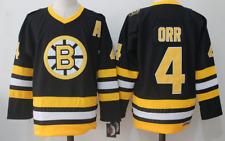 Bruins Black Jersey Bobby Orr M, L, XL, 2XL, 3XL