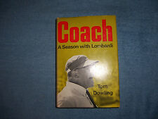 COACH by Tom Dowling/1st Ed/HCDJ/Signed/Biography/Sports/Football