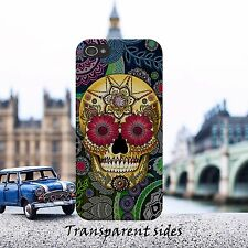 Sugar Skull Paisley Flower Phone Case Cover