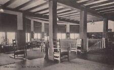 Postcard Office Interior Buck Hill Falls PA