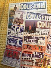 More details for set of 5 large london coliseum national opera cards , scarce set