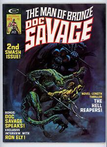 DOC SAVAGE magazine #2 (Marvel 1975) VF condition! NO RES!