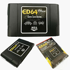 ED64 Plus Game Save Device 8GB SD Card Adapter for N64 Game PAL/NTSC Multicart