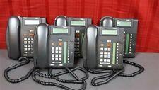LOT OF 5 Nortel Norstar T7208 Business Phones NT8B26AABA w/ Handsets!