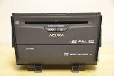 09 10 ACURA TSX Navigation Radio 6 Disc MP3 WMA DVD CD Player Premium Sound 1XA4