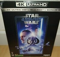 STAR WARS Episode I(1) : LA MENACE FANTOME 4K ULTRA HD - NEUF