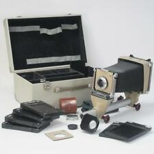 Linhof Color 4x5 Monorail Camera, Schneider Symmar 1:5.6/135 Lens & Accessories