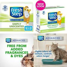 New listing Fresh Step Advanced Clumping Cat Litter With Activated Charcoal Natural Odor C