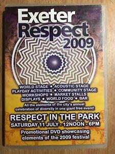 Exeter Respect DVD 2009 Musique Festival Promotionnel Promo