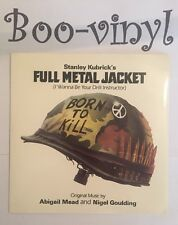 "FULL METAL JACKET - DRILL INSTRUCTOR 7"" Vinyl Single Picture Sleeve  MINT"
