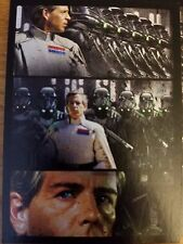 2016 Star Wars Rogue One Mission Briefing 3 Director Krennic Comic Strip NM-Mint