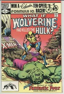 WHAT IF? 31 NM/NM+ 1982  CLASSIC WHAT IF WOLVERINE KILLED THE HULK CGC IT!