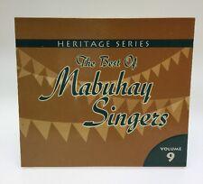 Heritage Series: The Best Of Mabuhay Singers Vol 9 Filipino Cd