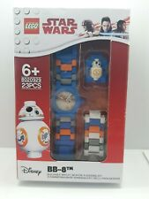 Lego Star Wars Movie BB-8 Droid Buildable Wrist Watch 23pc Waterproof Analogue