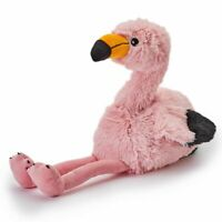 Fully Microwaveable Soft Plush Toy Heatable With Relaxing Lavender - Flamingo