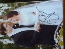 Robert Pattinson Kristen Stewart Twilight Wedding COA Autographed