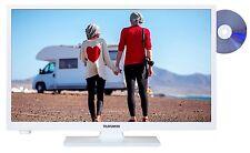 "Telefunken XH24A101VD-W LED Fernseher mit DVD 24"" Zoll 61cm TV HD DVB-T2/C/S2"
