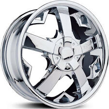 (1) ONE 22'' VELOCITY 200-A 22X9.5+13 5X115+5X120 CHROME WHEEL RIM SALE