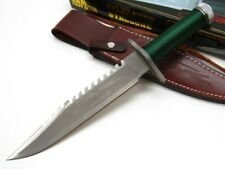 Hcg Rambo First Blood Limited Signature Edition Survival Bowie Knife + Sheath