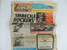 UK Motor Cycle Newspaper Sept. 1977 6 Days Trial Road Race Mike Hailwood L1136