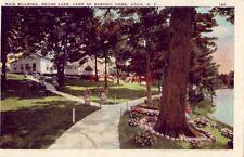 1928 MAIN BUILDING, ROUND LAKE, CAMP OF MASONIC HOME, UTICA, N. Y.
