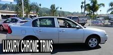 Chevy Malibu Classic Stainless Chrome Pillar Posts by Luxury Trims 2004-2007 6pc