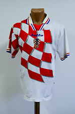 CROATIA 1998 WORLD CUP HOME FOOTBALL SHIRT JERSEY MAGLIA LOTTO SUKER BOBAN ERA
