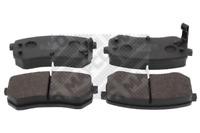 Bremsbelagsatz, Scheibenbremse für Bremsanlage Hinterachse MAPCO 6816