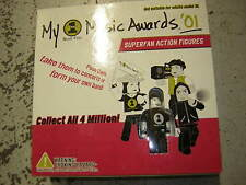 Vh1 Promo Music Awards Inhouse Item 2001 Premiere Toy Action Figure Set
