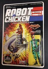 "ROBOT CHICKEN GI JOE EXC PAINT VARIANT ""GO BAWK!"" CYBER ACTION FIGURE NIP MOC"