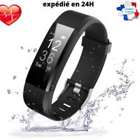 Montre Connectée GPS Podomètre Cardio étanche sport fitness neuve et emballé