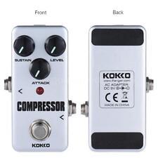 Kokko FCP2 compressore portatile pedale del pedale effetto della chitarra J4V6