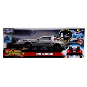HOLLYWOOD RIDES 1:24 BACK TO THE FUTURE II DELOREAN TIME MACHINE